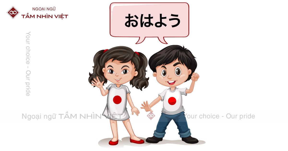 Tiếng Nhật giao tiếp hàng ngày tại Ngoại Ngữ TẦM NHÌN VIỆT